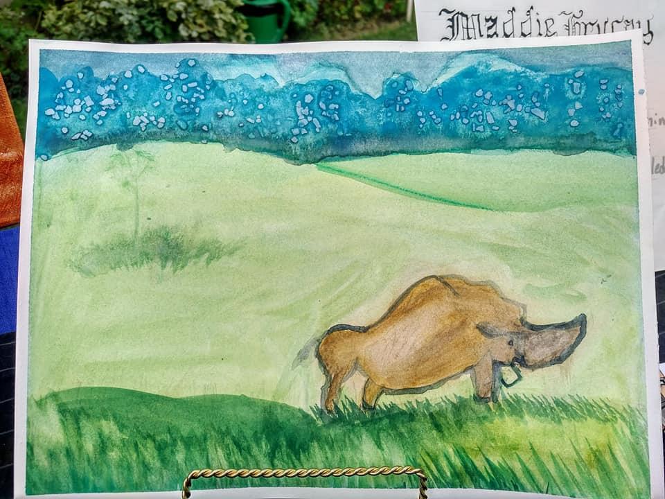 Maddie's Field Trip Art Challenge Piece
