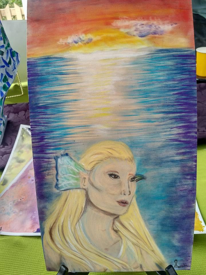 Mermaid-Sarah age 12