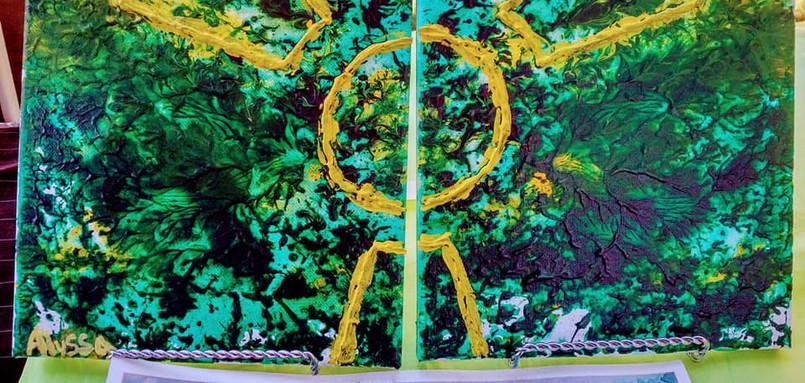 Hulk SMASH Paintings by Alyssa