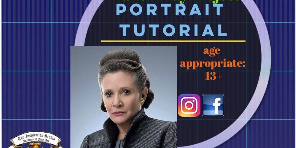Portrait Tutorial - ONLINE ONLY