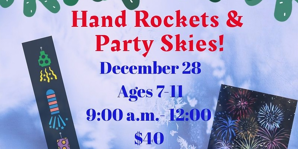 New Years Rockets n' Party Skies!