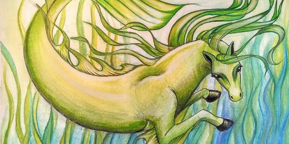 Enchanted Equines Art Class continued!