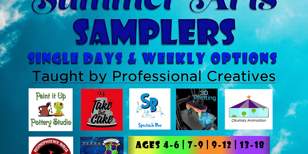 Okotoks Summer Arts Samplers!
