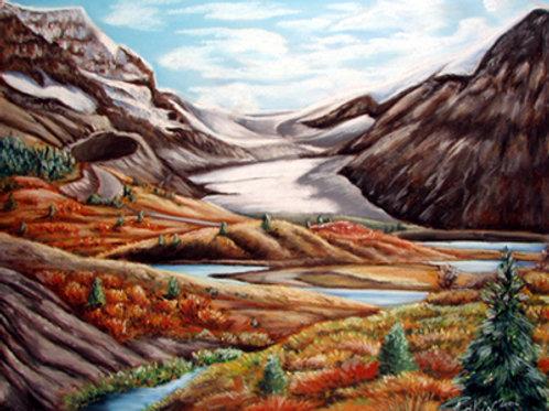 The Columbia Icefields, Alberta, Canada