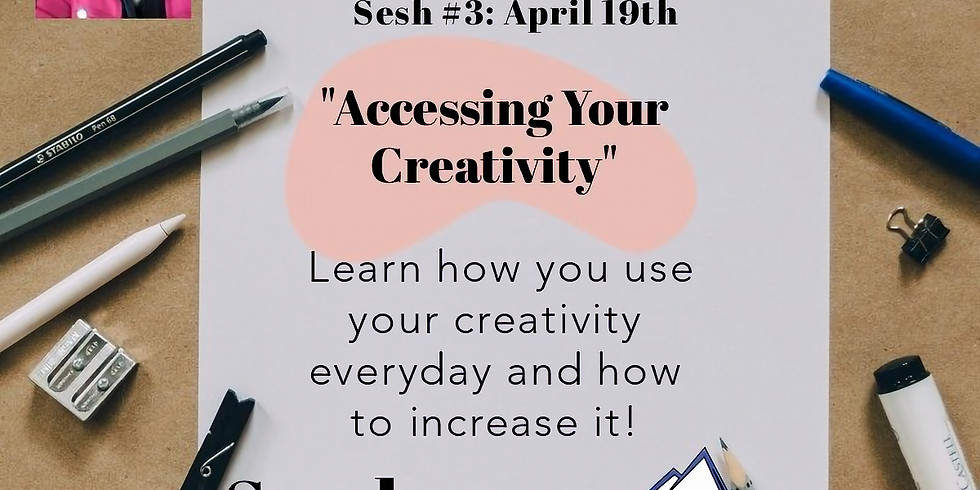 """FREE YourSELF: 'Accessing Your Creativity"""""""