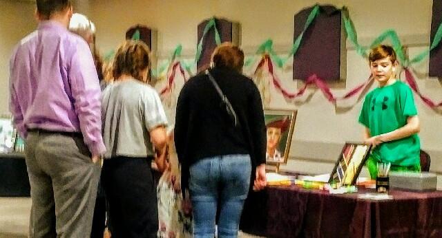 Visitors and Fans at B.Killam's table