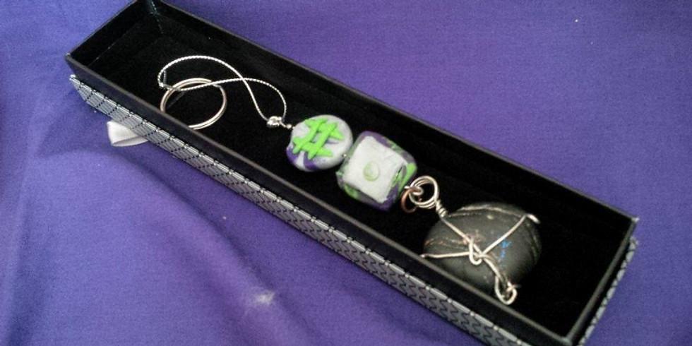 EASTER BREAK: Beads,Stones & Clay Jewelry!