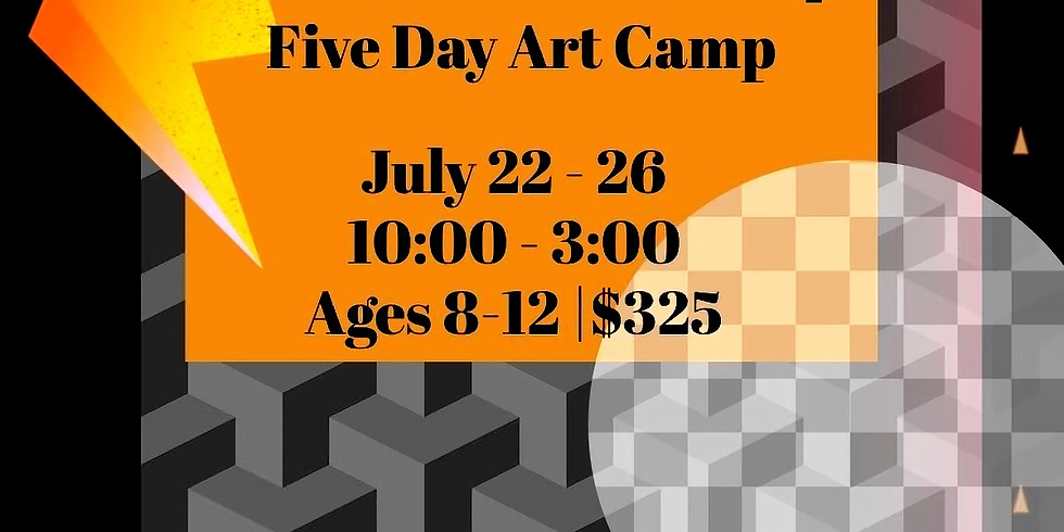 FIVE Day Fandom Art Camp!
