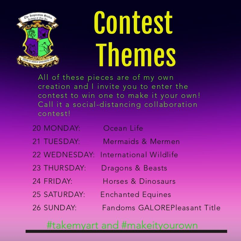 Contest Themes and Dates