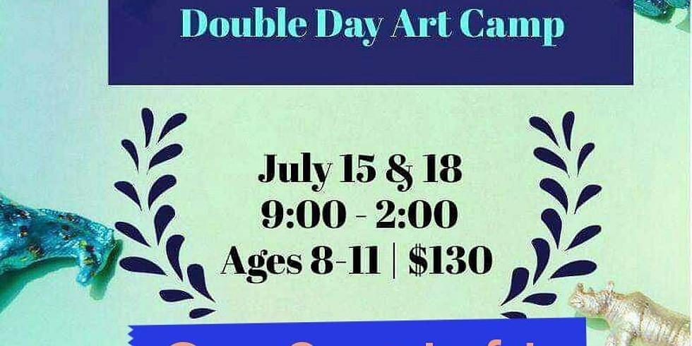 Pre-Tweens Double Day Art Camp!