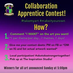 Collaboration Apprentice Contest