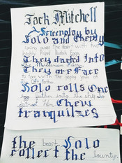 Calligraphy Screenplay!