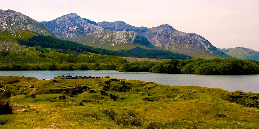 Paint Ireland's Connemara's Inagh Valley!