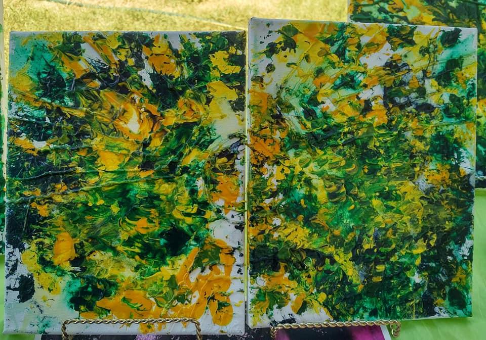 Hulk SMASH Paintings by Brody