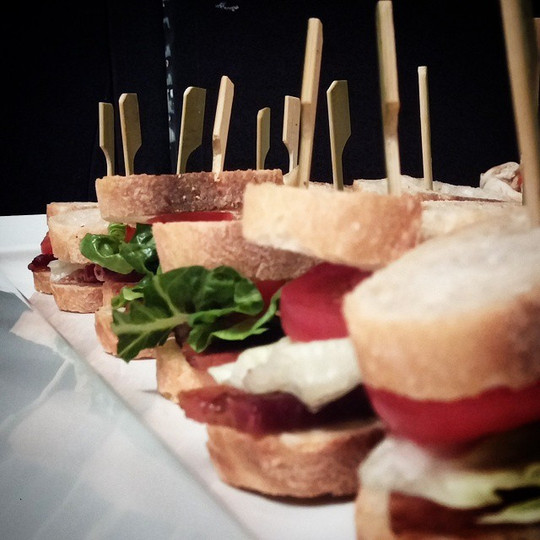 Baby BLT's for the NBA allstars #fashion