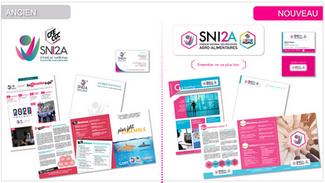 Refonte de l'identité visuelle et des outils de communication du syndicat SNI2A