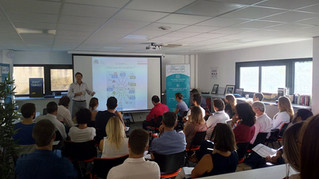 Stepcom, agence spécialisée en référencement naturel, prend la parole au BIC InnovUP de Nîmes