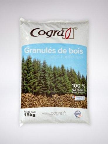 Granulés de bois COGRA