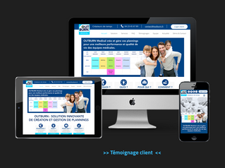 Step'com, agence conseil en communication à Nîmes, lance le nouveau site internet d'OUTBURN