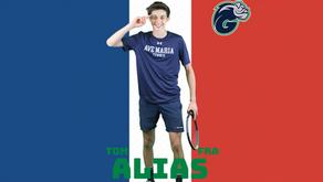 Début du championnat universitaire NAIA en Floride pour Tom
