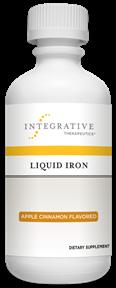 Liquid Iron Apple Cinnamon 6 Oz