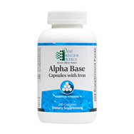 Alpha Base Capsules w/ Iron 240ct