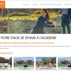 Refonte intégrale du dispositif digital de La HDN Academy, sport-études à Nîmes