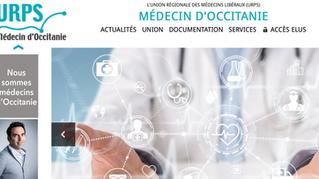 Step'com, agence conseil en marketing et communication à Nîmes, accompagne l'URPS Occitanie