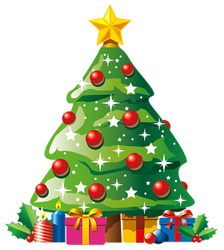 clipartsilhouette-christmas-tree-artific
