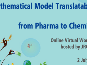 "Strituvad at JRC online workshop ""Mathematical Model Translatability – from Pharma to Chemical"""