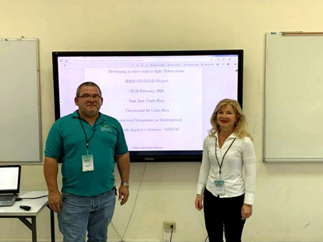Strituvad presented at XXII International Symposium on Mathematical Methods Applied Sciences