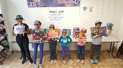 Les élèves et leurs créations
