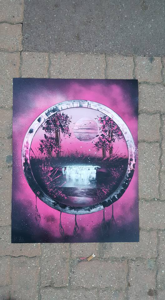 UR-78 deco graffiti/Spray Paint Art