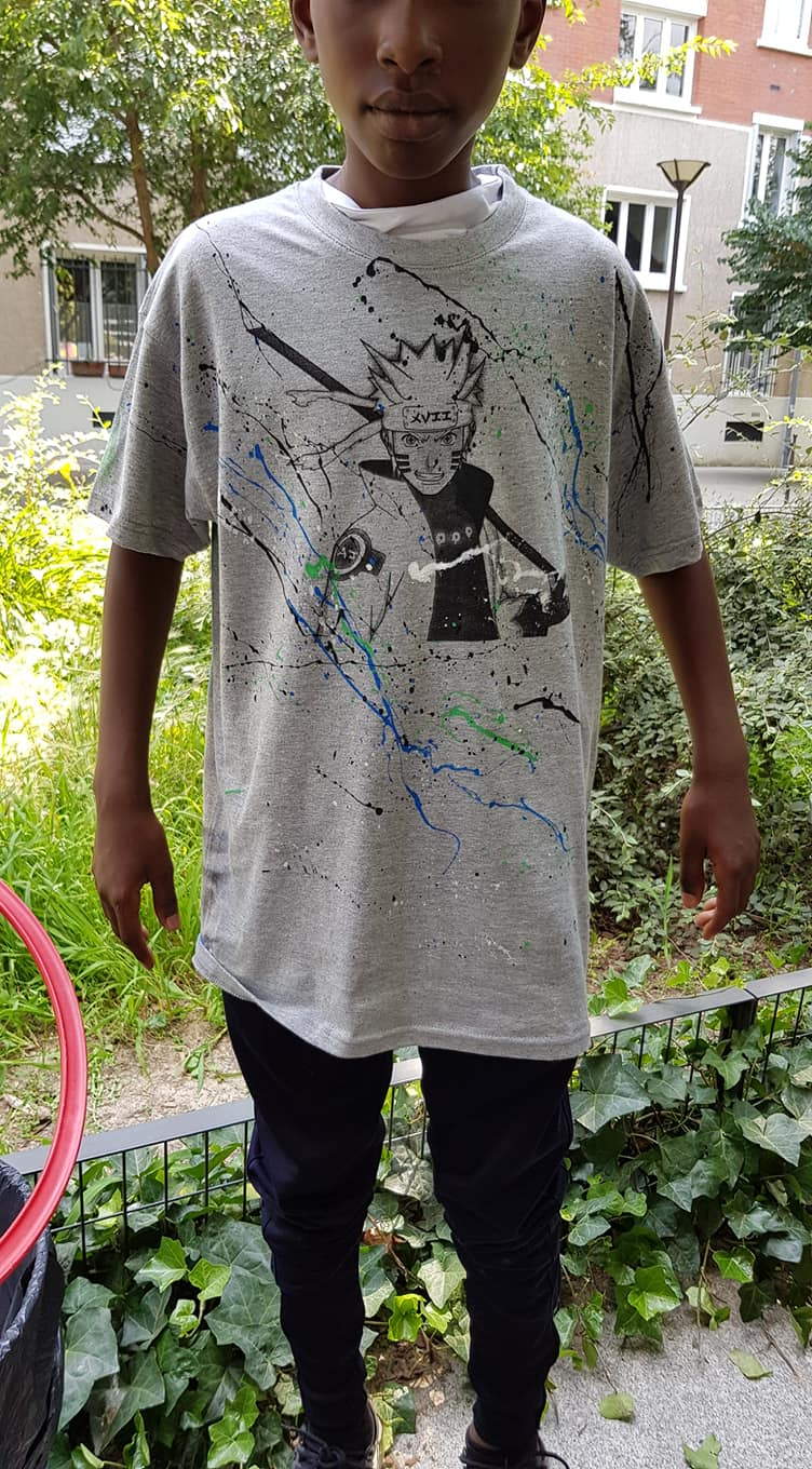 UR-78 atelier customisation graffiti