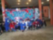 ado en trai de peindre une deco graffiti par UR-78 et graff ink maker