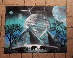 UR-78 deco graffiti/Spray Paint Art