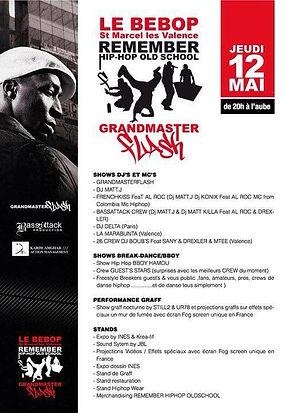 UR-78 live graffiti et exposition graffiti soirée avec Grandmaster Flash, Remember Hip-Hop Old School
