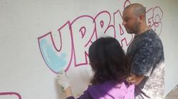 UR-78 atelier initiation graffiti