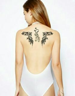 """""""Design tattoo"""" UR-78 bodypainting"""
