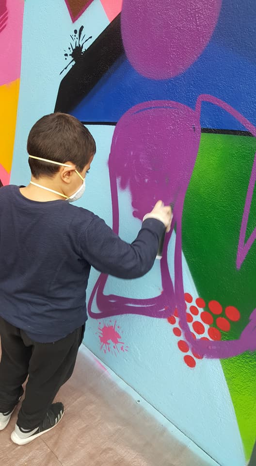 Atelier graffiti parents / enfants