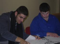 Les élèves en pleine concentration