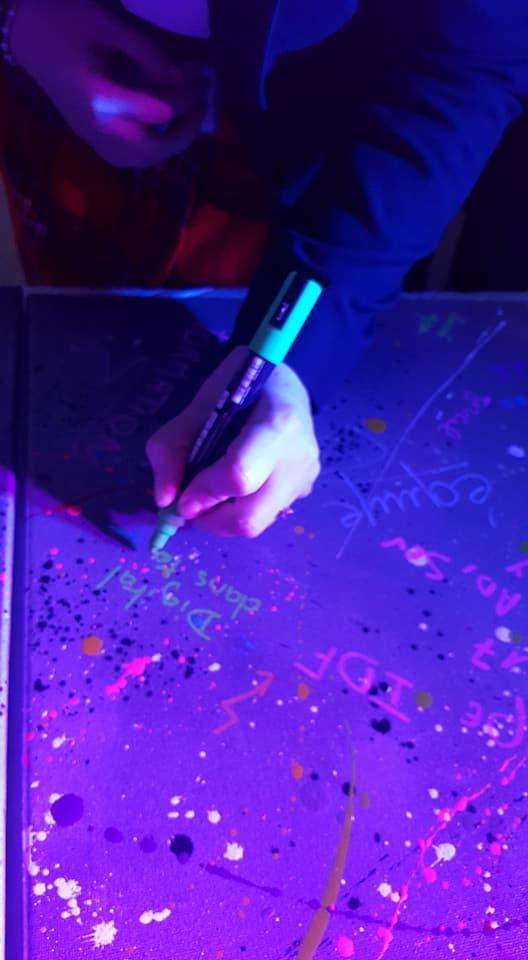 UR-78 atelier graffiti pour Manutan