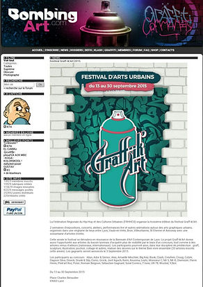 UR-78 concours d'arts urbains Graff'ik'art, toiles, deco graffiti, graff ink maker