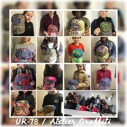 UR-78 atelier custom casquettes