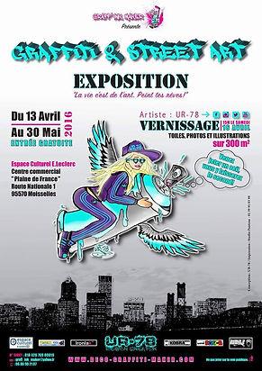 UR-78 exposition graffiti et street art ( déco graffiti, toiles, fresques, personnalisation, deco graffiti chambre d'enfants)