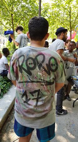 UR-78 atelier customisation graffiti