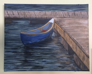 Little Boat Blue