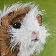 """SOLD """"Tiny Guinea Piggy"""""""