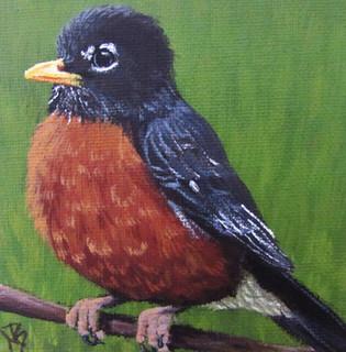 SOLD - Chubby Robin