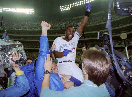 Recalling the crazy 1993 World Series between the Blue Jays and Phillies